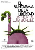 La fantôme de la liberté - Spanish Movie Poster (xs thumbnail)