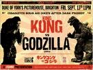 King Kong Vs Godzilla - British Re-release movie poster (xs thumbnail)