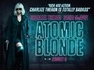 Atomic Blonde - British Movie Poster (xs thumbnail)