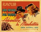 Adventure in Manhattan - Movie Poster (xs thumbnail)