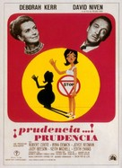 Prudence and the Pill - Spanish Movie Poster (xs thumbnail)