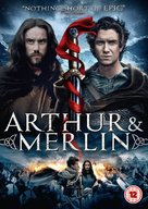 Arthur & Merlin - British DVD movie cover (xs thumbnail)