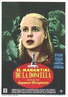 Jungfrukällan - Spanish Movie Poster (xs thumbnail)