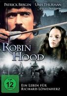 Robin Hood - German DVD movie cover (xs thumbnail)