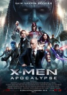 X-Men: Apocalypse - Finnish Movie Poster (xs thumbnail)