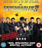 The Expendables 3 - British Blu-Ray movie cover (xs thumbnail)