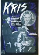 Kris - Swedish Movie Poster (xs thumbnail)
