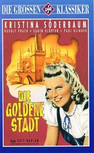 Goldene Stadt, Die - German VHS movie cover (xs thumbnail)