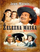Masque de fer, Le - Czech DVD cover (xs thumbnail)