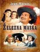 Masque de fer, Le - Czech DVD cover (xs thumbnail)