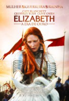 Elizabeth: The Golden Age - Brazilian Movie Poster (xs thumbnail)