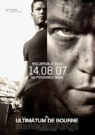 The Bourne Ultimatum - Spanish Movie Poster (xs thumbnail)
