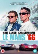 Ford v. Ferrari - British Movie Cover (xs thumbnail)