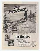 The Fugitive - poster (xs thumbnail)