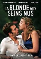 La blonde aux seins nus - French Movie Poster (xs thumbnail)