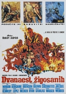 The Dirty Dozen - Yugoslav Movie Poster (xs thumbnail)