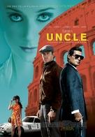 The Man from U.N.C.L.E. - Serbian Movie Poster (xs thumbnail)
