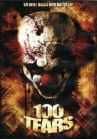 100 Tears - German DVD movie cover (xs thumbnail)