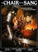 Flesh And Blood - French Movie Poster (xs thumbnail)