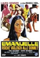 Emanuelle - perché violenza alle donne? - Italian DVD cover (xs thumbnail)