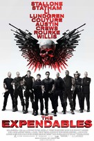 The Expendables - Danish Movie Poster (xs thumbnail)