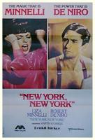 New York, New York - Turkish Movie Poster (xs thumbnail)