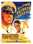 Five Graves to Cairo - French Movie Poster (xs thumbnail)