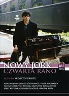 Nowy Jork, czwarta rano - Polish DVD cover (xs thumbnail)