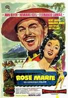 Rose Marie - Spanish Movie Poster (xs thumbnail)