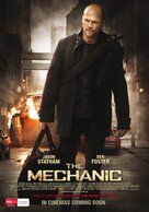 The Mechanic - Australian Movie Poster (xs thumbnail)