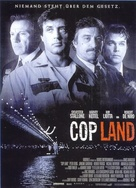 Cop Land - German Movie Poster (xs thumbnail)