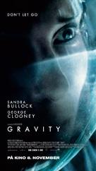 Gravity - Norwegian Movie Poster (xs thumbnail)