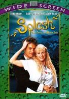 Splash - Brazilian DVD cover (xs thumbnail)