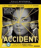 Accident - British Blu-Ray movie cover (xs thumbnail)