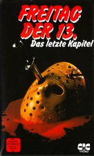 Friday the 13th: The Final Chapter - German VHS cover (xs thumbnail)