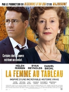 Woman in Gold - French Movie Poster (xs thumbnail)