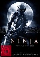 Ninja - German DVD cover (xs thumbnail)