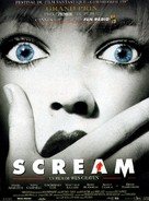 Scream - French Movie Poster (xs thumbnail)