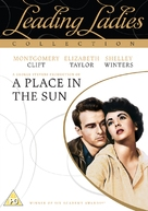 A Place in the Sun - British DVD movie cover (xs thumbnail)