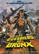 1990: I guerrieri del Bronx - French Movie Cover (xs thumbnail)
