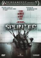 Splinter - Swiss DVD cover (xs thumbnail)