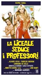 La liceale seduce i professori - Italian Theatrical movie poster (xs thumbnail)