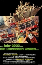Soylent Green - German Movie Poster (xs thumbnail)
