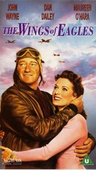 The Wings of Eagles - British VHS movie cover (xs thumbnail)
