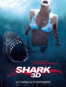 Shark Night 3D - French Movie Poster (xs thumbnail)