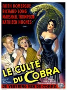 Cult of the Cobra - Belgian Movie Poster (xs thumbnail)