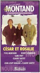 César et Rosalie - French VHS movie cover (xs thumbnail)