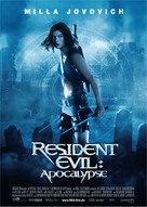 Resident Evil: Apocalypse - German Movie Poster (xs thumbnail)