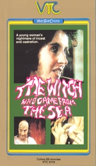 The Witch Who Came from the Sea - Swedish VHS cover (xs thumbnail)