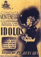 Ídolos - Spanish Movie Poster (xs thumbnail)
